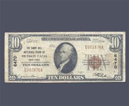 Old Ten Dollar Bill