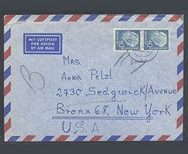 Travel Letter Envelope